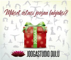Joogastudion suositut joululahjakortit ovat taas myynnissä!