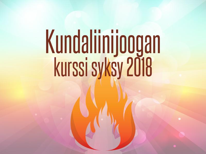 Kundaliinijoogan kurssi – Sukellus tietoisuuden joogaan syksyllä 2018